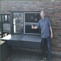 Tilduiven bezoek bij Jaap van der Kruk