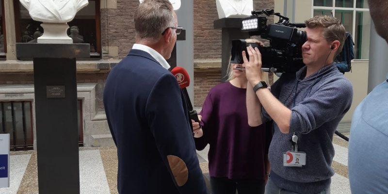 Vincent Hoogerwerf In gesprek met Hart van Nederland.
