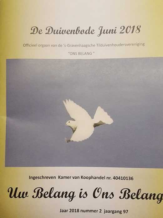 duivenbode, Duivenbode Juni 2018