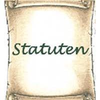 Statuten en huishoudelijk Reglement